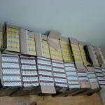 10.000 de pachete cu ţigări confiscate de poliţiştii de frontieră
