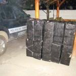 Focuri de armă pentru reţinerea contrabandiştilor de ţigări