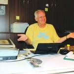 Olandezul Jan Steenstra,   un fost consultant în afaceri devenit colecționar/ Foto: Vasile Mihovici