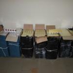 Două focuri de armă pentru reţinerea contrabandiştilor de ţigări
