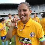 Maria Ficzay este una dintre cele mai valoroase fotbaliste din România/ Foto: Dan Bodea