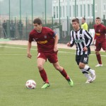 Atacantul CFR-ului,   Sergiu Negruț (la minge) va evolua sub formă de împrumut la Olimpia Satu Mare/ FOTO: Dan Bodea
