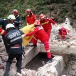 Echipajul SMURD a scos corpul adolescentului de sub dărâmături