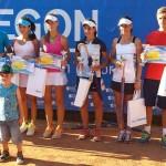Ediția 2013 a Aegon Open Junior și-a desemnat duminică învingătorii