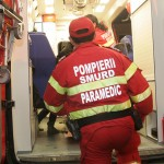 Patru persoane care se aflau în maşină au fost transportate la Spitalul Judeţean de Urgenţă Baia Mare / Sursa foto: pressalert.ro