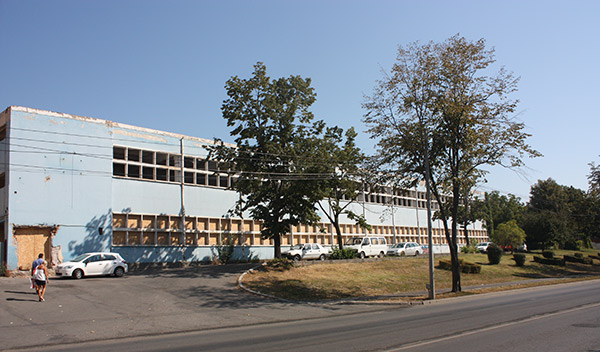 Atrium Center trebuia să fie construit pe spațiul fostei fabrici Ergolemn