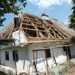Lucrări de reabilitare a Casei Vasile Lucaciu din Apa