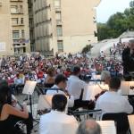 Sute de sătmăreni au asistat joi seara la concertul extraordinar din Piaţa 25 Octombrie