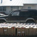 Poliţiştii de frontieră au confiscat aproximativ 19.000 pachete cu ţigări