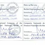 Plângere penală pentru lipsa exemplarului original al contractului cu Bechtel