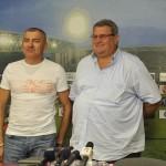 Petre Grigoraş (foto stânga) are ca obiectiv clasarea CFR-ului pe un loc de cupă europeană