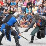 Demonstrație de lupte medievale / Sursa foto: bzi.ro
