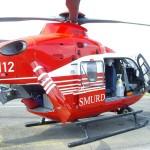 Elicopterul trebuia să transporte la Bucureşti un pacient în stare gravă / Sursa foto: smurd.ro