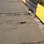 Podurile din Cluj, adevărate capcane pentru pietoni