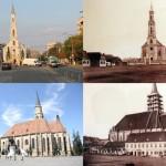 Clujul nou și vechi/ Foto: Veress Ferenc&Dan Bodea
