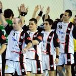 Handbaliştii de la Universitatea Cluj au făcut o repetiţie,   la Sebeş,   înaintea turneului de baraj pentru menţinerea în Liga Naţională