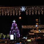 În acest an, pentru iluminarul ornamental vor fi alocaţi doar 350.000 lei / Sursa foto: satmareanul.net