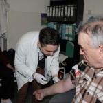 Medici de familie in timpul unei consultatii/Foto: Dan Bodea