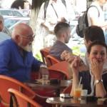 Mircea Pop,   la o cafea,   de vorbă cu senatorul Sorin Bota