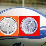 BNR a lansat luni o monedă aniversară, la 100 de ani de la disputarea primului meci de rugby în România/ FOTO: timisoaraexpress.ro