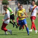 Erwin Zsiga (foto,   echipament galben-albastru) a oferit ratarea meciului