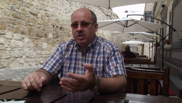 Istoricul Ottmar Trașcă/ Foto: Bogdan Stanciu