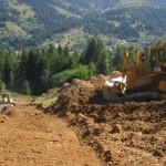 Primăria Borşa realizează în regie proprie lucrările necesare finalizării Pârtiei Olimpice