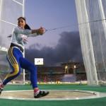 Bianca Perie a aruncat cu folos la mondialele de la Moscova şi s-a calificat în finală/ FOTO: epochtimes-romania.com