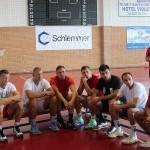 Handbaliștii de la CSM, la primul antrenament din acest sezon