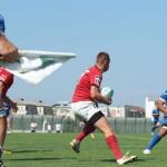 Vicecampionii României la rugby, CSM Ştiinţa Baia Mare a fost călcată în picioare de campioana en titre RCM Timişoara/ FOTO: Tania Purcaru