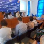 Directorul Finanțelor Publice Satu Mare,   Mircea Ardelean alături de reprezentanți ai Ministerului Finanțelor