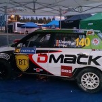 Simone Tempestini și Dorin Pulpea au ales să concureze cu o mașină Skoda Fabia R2