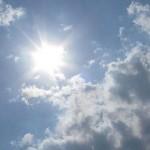 Vreme caldă la sfârșit de săptămână. Posibilități de averse reduse.