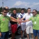 Sportivii Universităţii Cluj au luat lecţii de pilotaj defensiv de la piloţii Napoca Rally Academy/ FOTO Patrice Podina