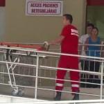 Bărbatul necesită îngrijiri de 40 de zile/ FOTO: stirileprotv.ro