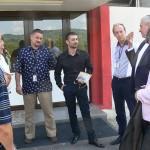 Autoritățile au discutat despre dezvoltarea aeroportului din Baia Mare