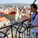 De Zilele Culturale Maghiare turnul Bisericii Sf. Mihail din Cluj poate fi vizitat gratuit/Foto: Dan Bodea