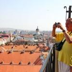 Sute de turişti sunt aşteptaţi să viziteze Turnul Bisercii Sf. Mihail de Zilele Culturale Maghiare/Foto: Dan Bodea