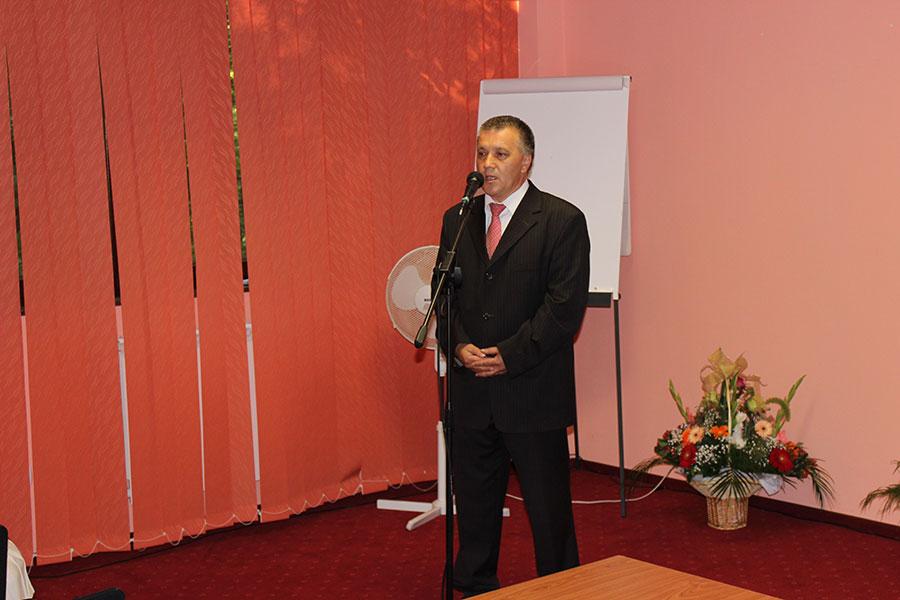 Conf. univ. dr. Vasile Negrean,   principalul organizator al evenimentului