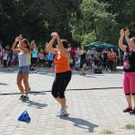 Zeci de sătmăreni au participat la demonstrațiile de dans