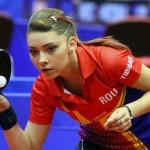 Sportiva legitimată la CSM Bistrița și în Franța a adunat în anii de juniorat 11 medalii la europene, record absolut în tenisul de masă feminin