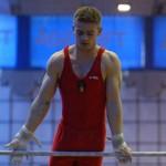 Marius Berbecar (foto) a fost unul dintre cei mai constați gimnaști biastrițeni la naționalele de la București