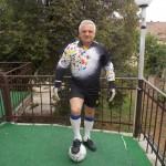 Sătmăreanul Nicolae Ștef este cel mai longeviv portar de fotbal din România