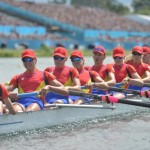 CANOTAJ/ Echipajul feminin al României de 8+1,   vicecampion mondial