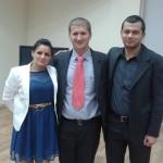Noul preşedinte,   alături de preşedintele executiv şi de secretarul organizaţiei (Foto PSD Sălaj)