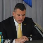 Președintele Consiliului Județean Satu Mare,   Adrian Ștef