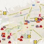 Hartă interactivă: ofensiva retailului modern în Cluj-Napoca