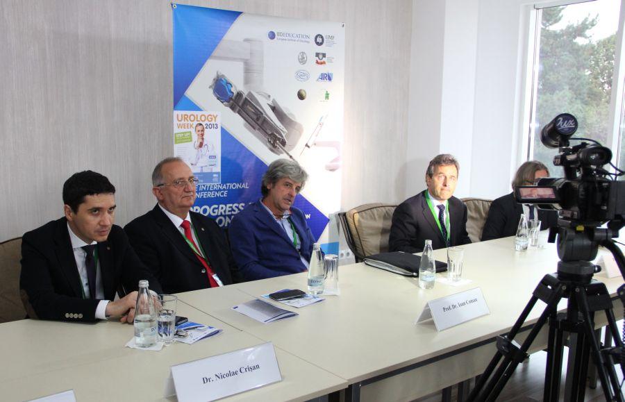 """Conferinţa de presă """"Progrese în Uro-Oncologie"""""""