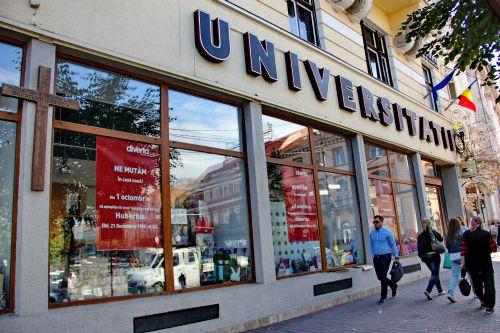 Librăria Universității/ Foto: Dan Bodea