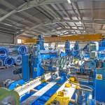 Noua fabrică de structuri zincate are o capacitate de producție de 3000 tone/an (foto: Teraplast)